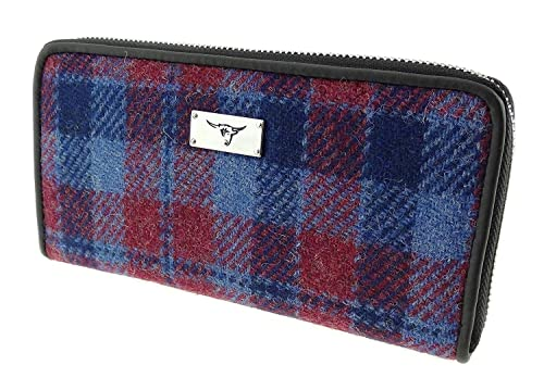 Glen Appin Staffa LB2100 Monedero de tweed para mujer con ...