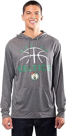 Ultra Game NBA Men's Super Soft Lightweight Pullover Hoodie Sweatshirt