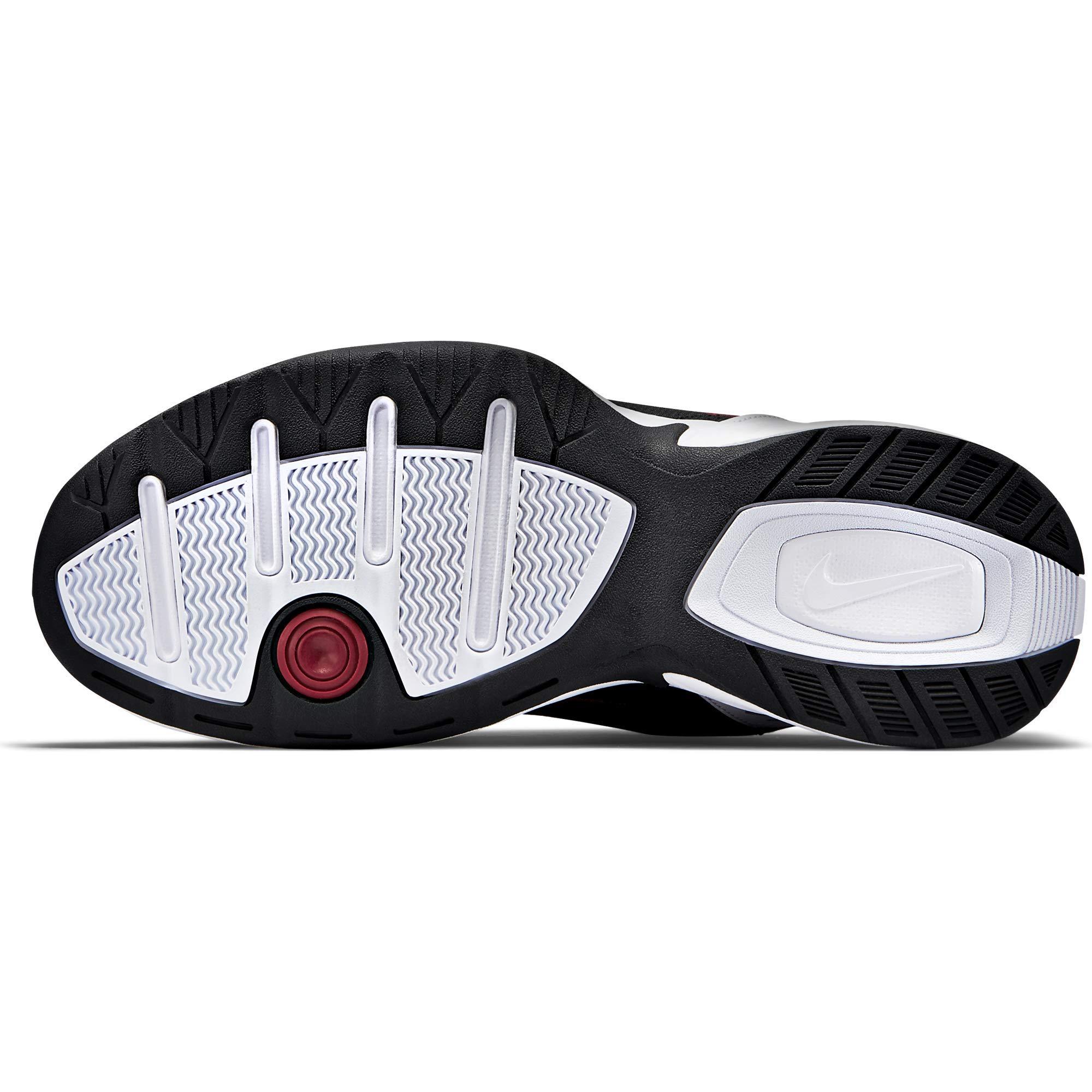 Nike Men's Air Monarch IV Cross Trainer, White/Black, 7.0 Regular US by Nike (Image #10)
