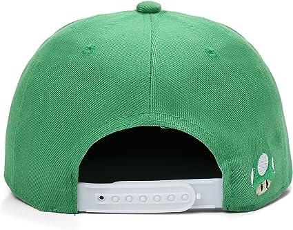 Gorra Snapback de Pico Plano Luigi Verde (Luigi Snapback Cap ...