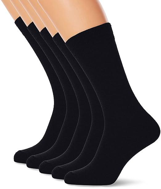 Marathon 5-Pack Socks, Calcetines para Hombre, Azul Navy, Talla única: Amazon.es: Ropa y accesorios