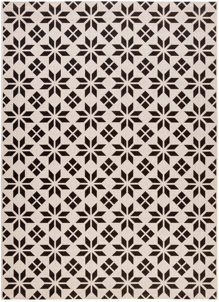 La Redoute Interieurs Tapis Tisse Plat Style Carreaux De Ciment
