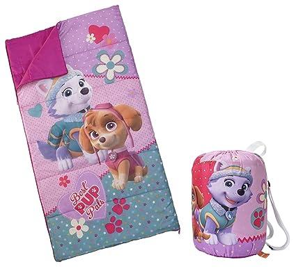 Amazoncom Spin Master Nickelodeon Paw Patrol Girls Slumber Bag