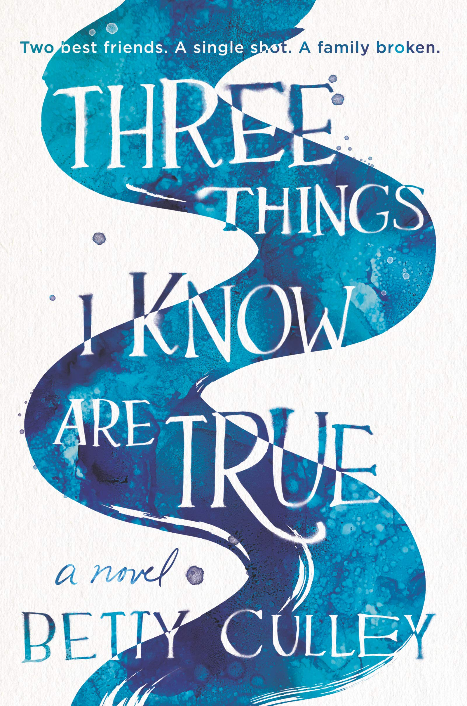 Amazon.com: Three Things I Know Are True (9780062908025): Culley, Betty:  Books
