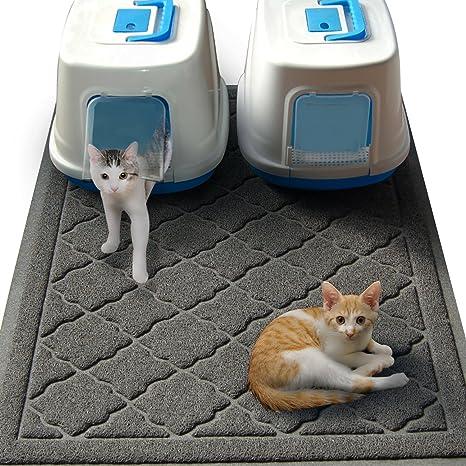Esterilla para caja de arena de gatos no tóxica tamaño JUMBO - (47 x 36 pulgadas) - Esterilla ...