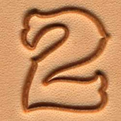 Tandy Leather Craftool 3 4quot Standard Number Stamp Set