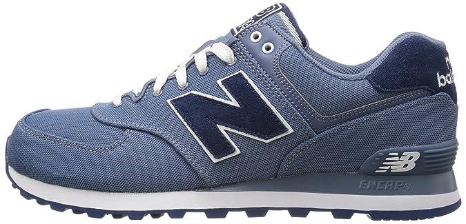 New Balance Ml574 - Zapatillas para Hombre Azul Chambray: Amazon ...