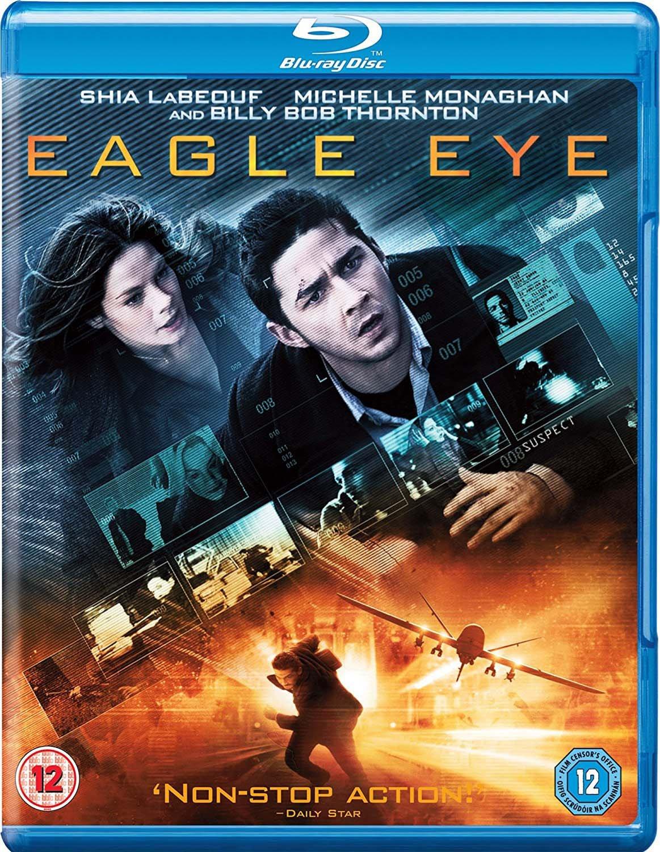 Amazon Com Eagle Eye Blu Ray 2008 Movies Tv