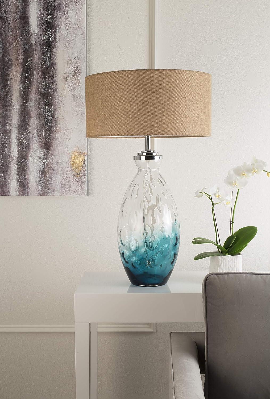Amazon.com: OK iluminación ok-5703 Aguamarina lámpara de ...