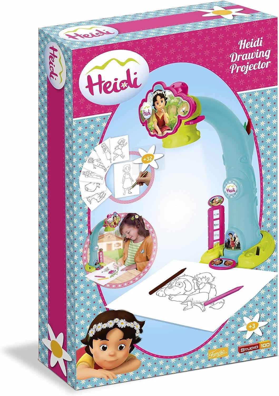 Famosa Proyector Heidi (700012661): Amazon.es: Juguetes y juegos