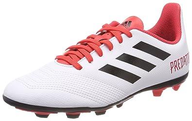 16273cd3bf5 adidas Predator 18.4 FG Kids Soccer Boot White Black Cold Blooded - US 5.5