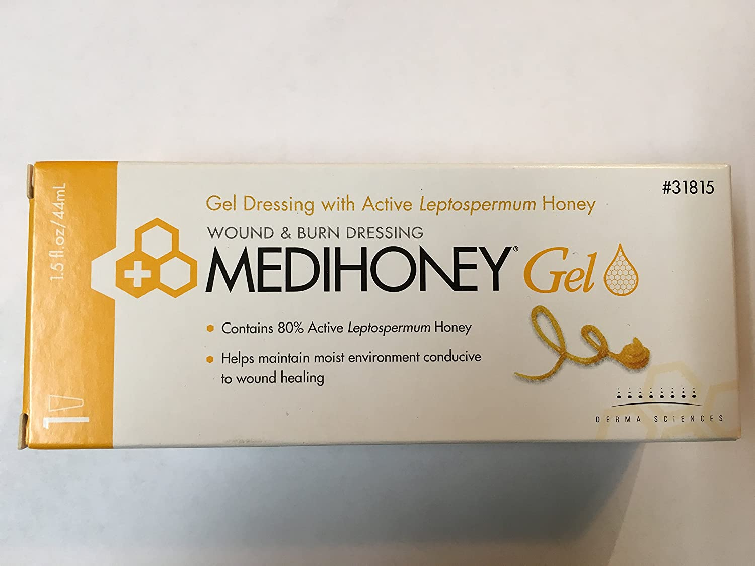 Buy Derma Sciences Medihoney Wound And Burn Dressing Gel 15 Oz Electronics Projects For Dummies Book Epfd Online At Low Prices In India