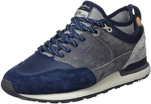 Pepe Jeans Btn Treck Pack, Zapatillas para Hombre: Amazon.es: Zapatos y complementos