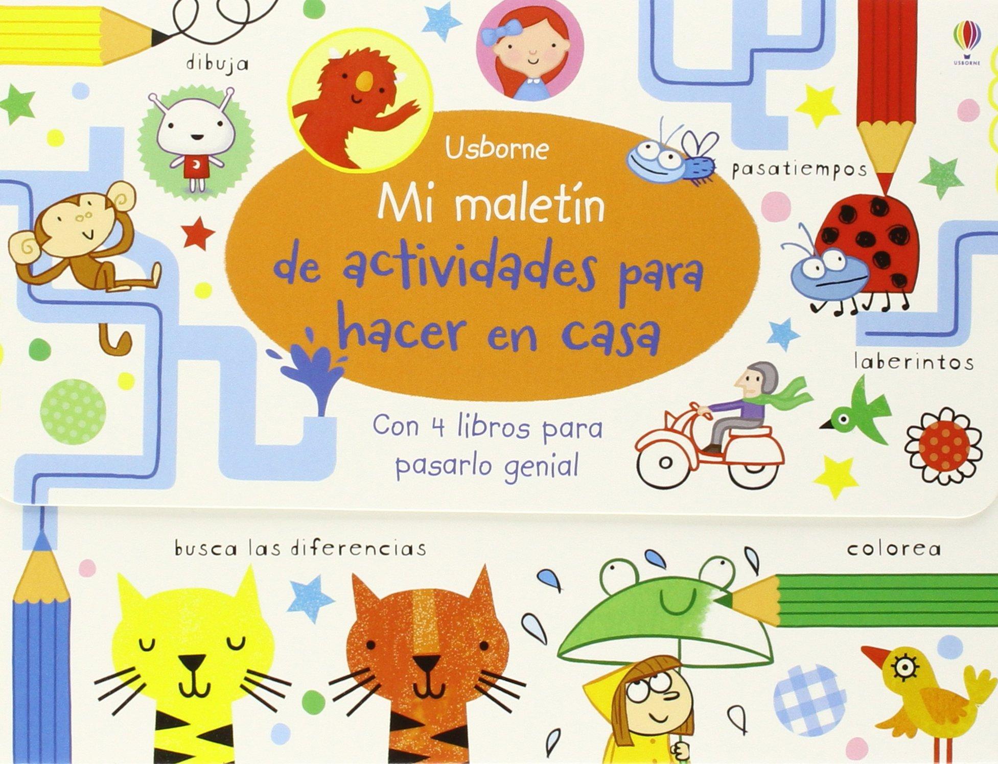 Mi Maletín De Actividades Para Hacer En Casa: Amazon.es: Vv.Aa.: Libros