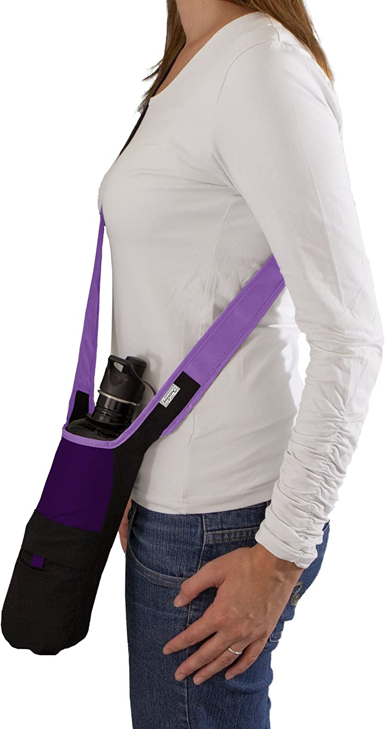 ChicoBag Bottle Sling rePETe Recycled Water Bottle Carrier Bag with Pouch