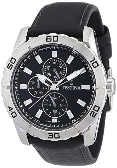 Festina Sport Multifunktion F16607/4 - Reloj analógico de cuarzo para hombre, correa de
