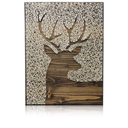 Amazon Com Deer String Art Kit Diy String Art Kit Deer Crafts