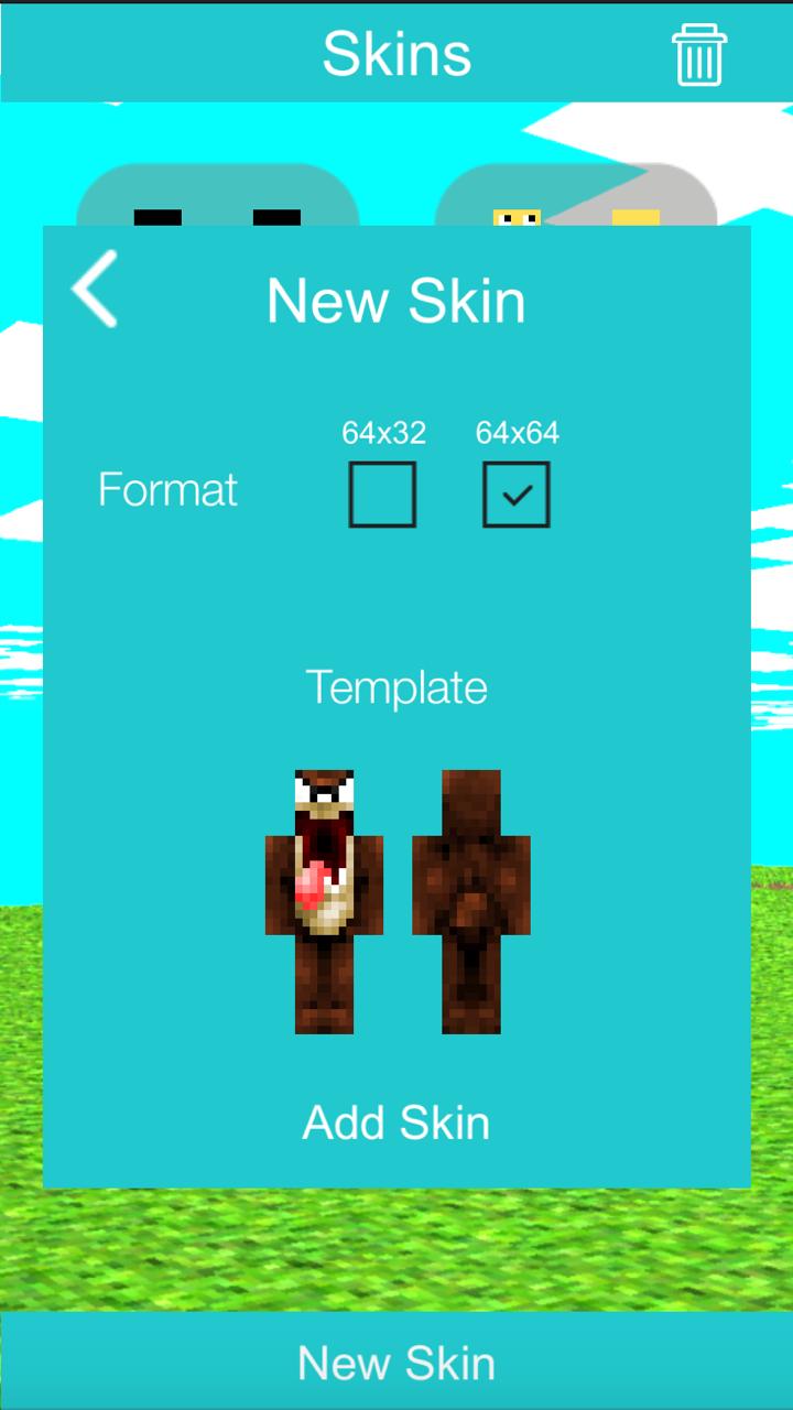 Skin Creator for Minecraft