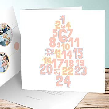 Weihnachtskarten Business.Weihnachtskarten Business Zahlenbaum Mit Foto 900 Karten