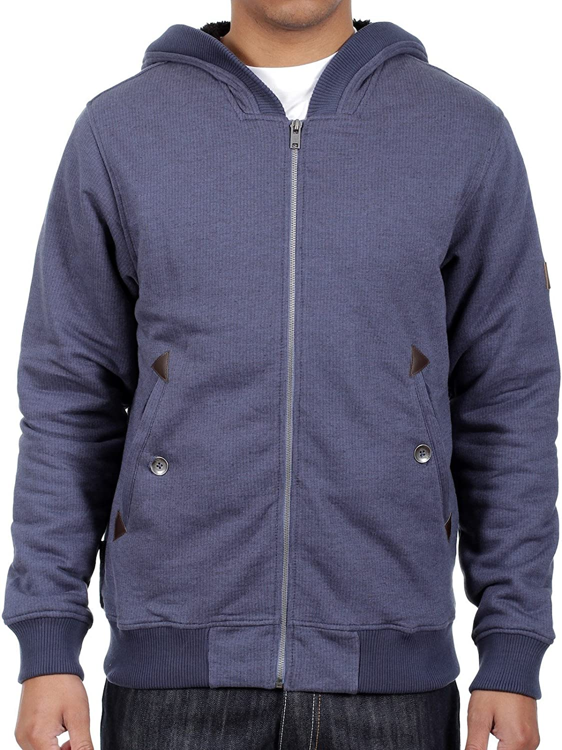 Billabong Estate Blue Ofury Zip Hoody
