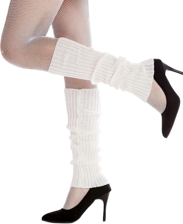 Dress Me Up W-020A-white Jambi/ères Style ann/ées 80 Blanches a/érobic