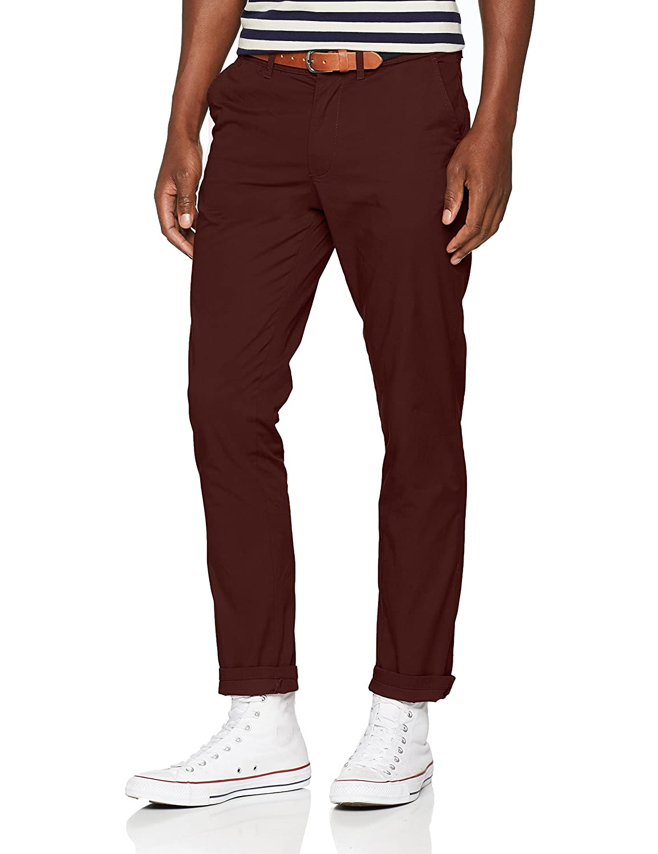 TALLA 30W / 34L. SELECTED HOMME Slhslim-Yard B. Chocolate Pants W Noos Pantalones para Hombre
