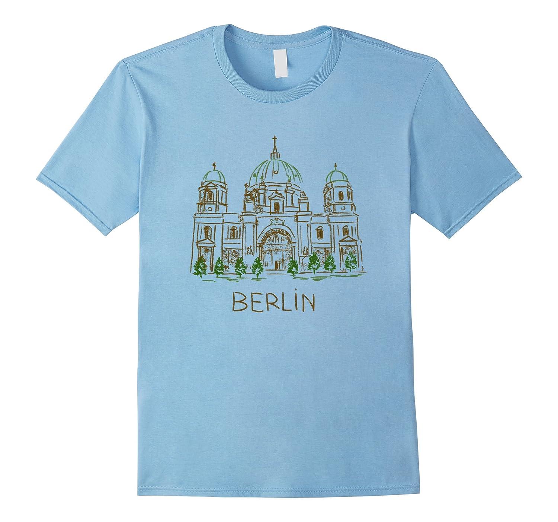 Berlin City Capital Germany Deutschland shirt Tshirt tee-Art