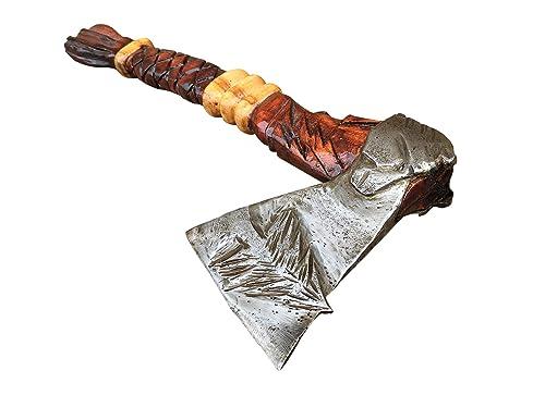 Scandinavian axe Viking tomahawk Best gift Forged woodwork hatchet Xmas gift