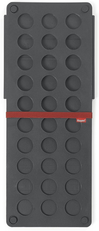 Rayen Folding Clothes Bender Easy Storage Grey Polypropylene Foldable Dimensions: 70 x 59 cm