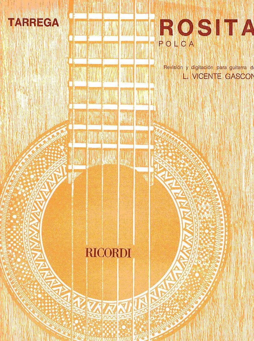 TARREGA - Rosita (Polka) para Guitarra: Amazon.es: TARREGA: Libros