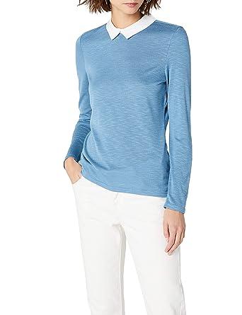 29a425cf28 Esprit Camisa Manga Larga para Mujer  Amazon.es  Ropa y accesorios