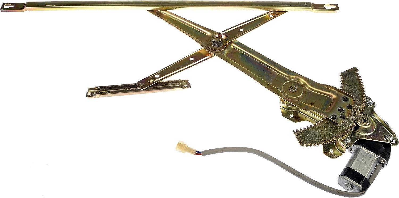 Dorman 741-017 Front Passenger Side Power Window Regulator and Motor Assembly for Select Honda Models