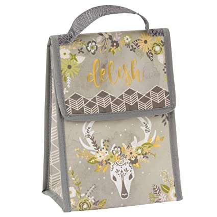 7670de944950 Karma Gifts Lunch Sack, Deer