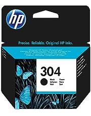 HP N9K06AE 304 Original Ink Cartridge Black, Pack of 1