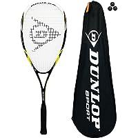 Dunlop Nanomax Pro Raquetas da Squash + Bolas