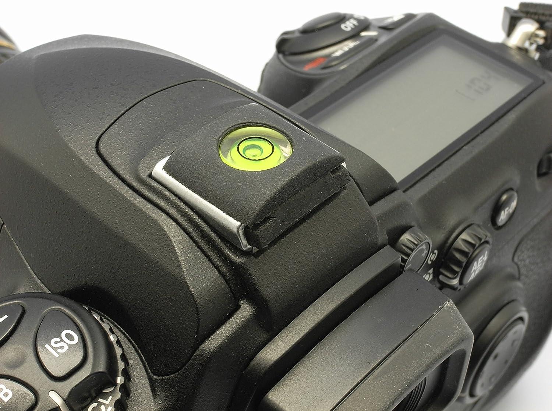 for Fujifilm X-A2 X-T1 X-E2 X-A1 X-M1 Pack of 2 Gadget Place Hotshoe Bulls Eye Spirit Level