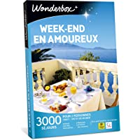 Wonderbox - Coffret cadeau couple - WEEK-END EN AMOUREUX – 2900 séjours romantiques : hôtels, domaines, maisons d'hôtes de charme...