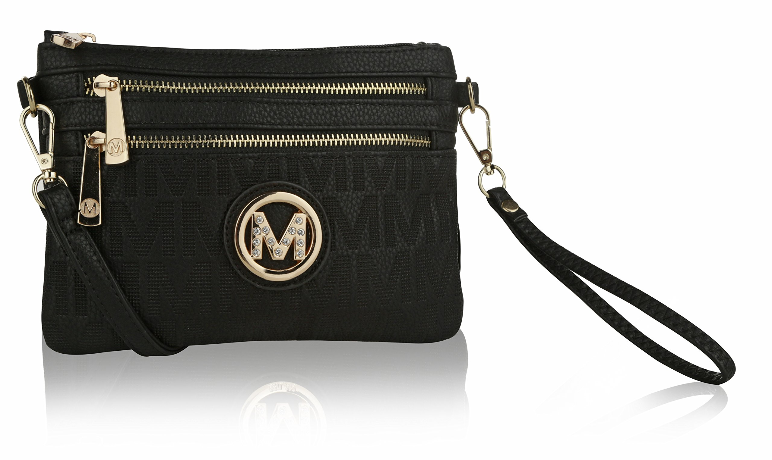 Wristlet | 2-in-1 Crossbody Bags for Women | MKF Collection Roonie Milan Signature Design