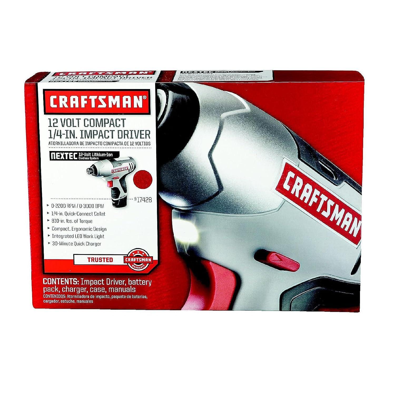 Craftsman Nextec 12.0 V Variable Speed 0-2200 RPM 1/4
