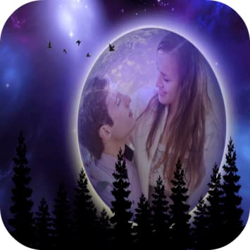 amazon com full moon photo frame editor appstore for android