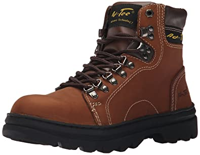 ede73f1ef633 AdTec Mens Brown 6in Hiker Boot Crazy Horse Leather 7.5 W