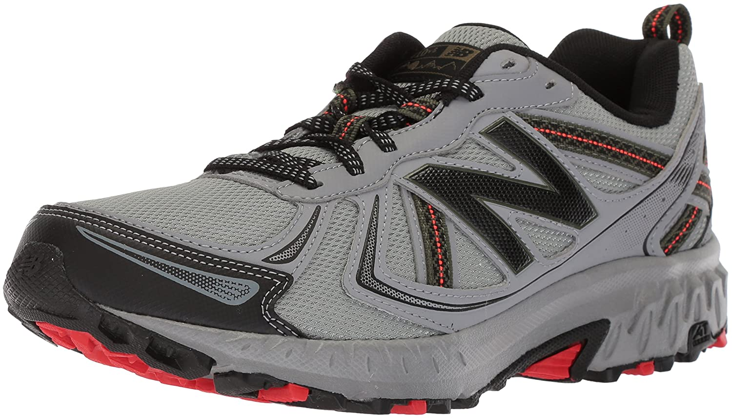 91f875c55d5 Amazon.com | New Balance Men's MT410v5 Cushioning Trail Running Shoe Runner  | Trail Running