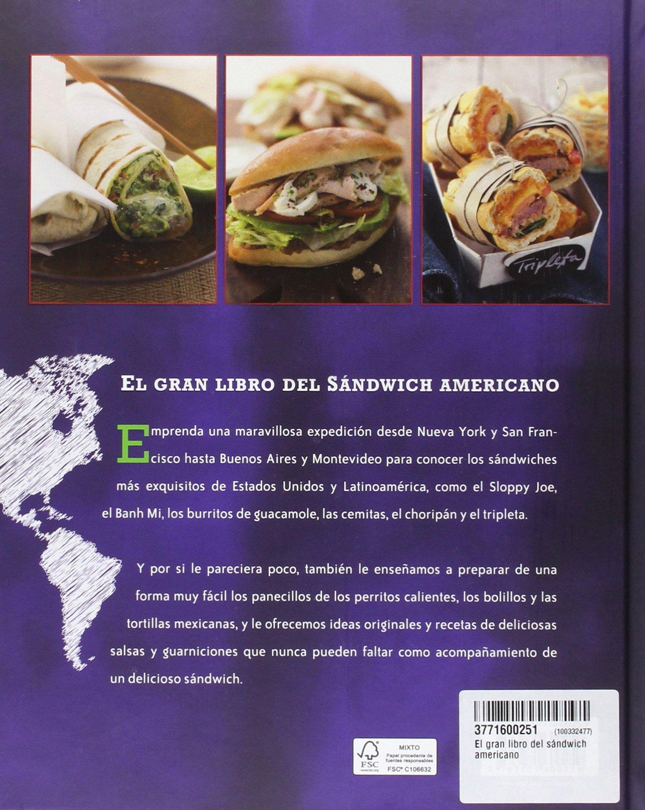 El gran libro del sándwich americano: VARIOS(600259): 9783771600259: Amazon.com: Books
