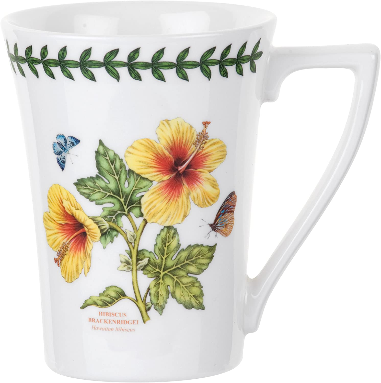 Portmeirion Exotic Botanic Garden Mandarin Mug, Set of 6 Assorted Motifs