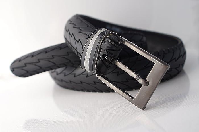 Fahrradreifen Gurtel I 35mm Gunmetal Vegan Upcycling Amazon De