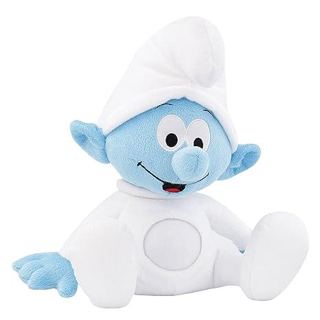 ANSMANN LED-Nachtlicht Baby Schlumpf / Niedliche Einschlafhilfe zum Kuscheln mit Schlummerliedfunktion & sanftem Licht