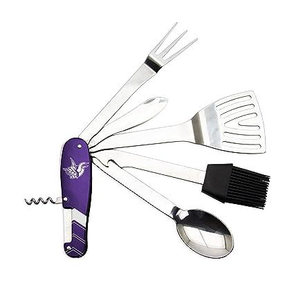 8bc89a9dbd028 Amazon.com   Sports Vault NFL Minnesota Vikings BBQ Multi Tool ...