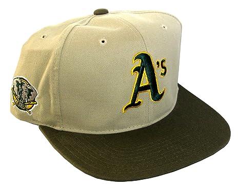 5bcfdd2a American Needle Men's Snapback Cap Vintage Oakland A'S Adjustable 22.44  Inch - 24.61 Inch Multicolour at Amazon Men's Clothing store: Baseball Caps
