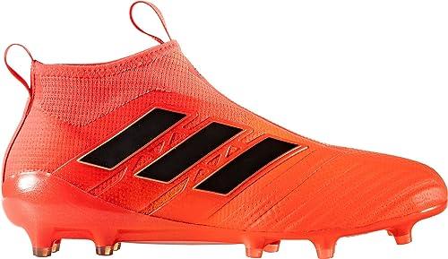 sports shoes 4223d 916f3 Adidas Ace 17+ Purecontrol FG Cleat Mens Soccer 11.5 Solar Orange-Core  Black-