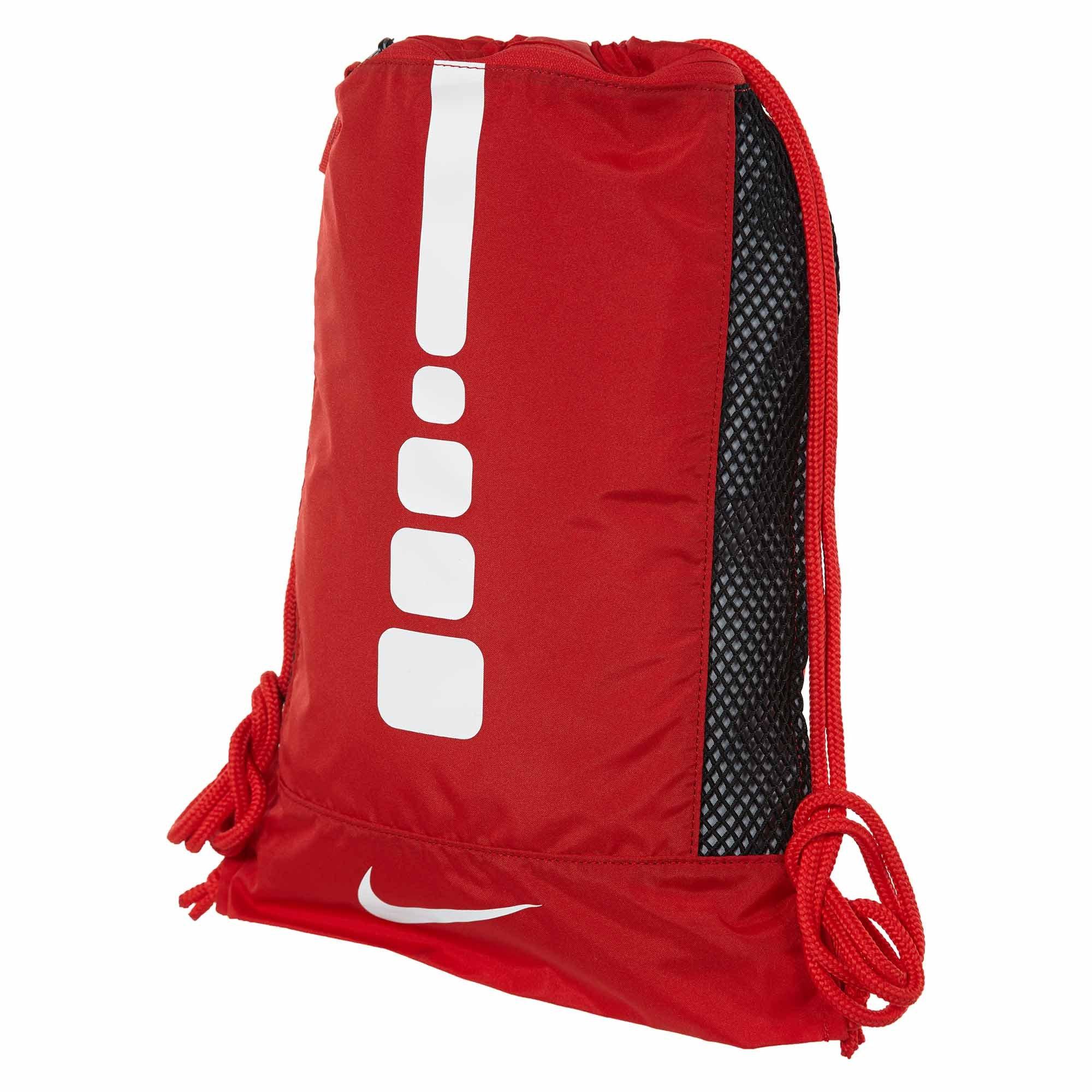 029faf9fb98b Galleon - Nike Men s Hoops Elite Basketball Gym Sack (University  RED University RED White)
